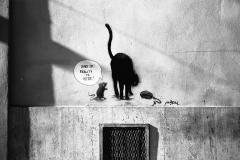 Street Art, Borgo, Rom